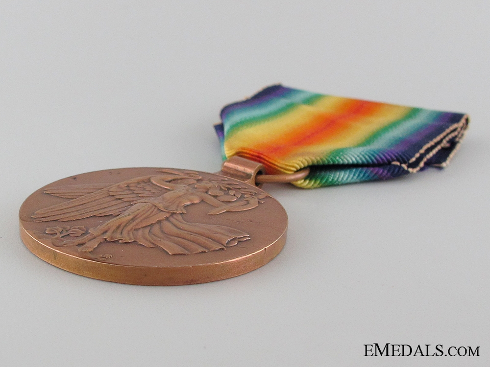 Czechoslovakian WWI Victory Medal, Re-Issue Type I