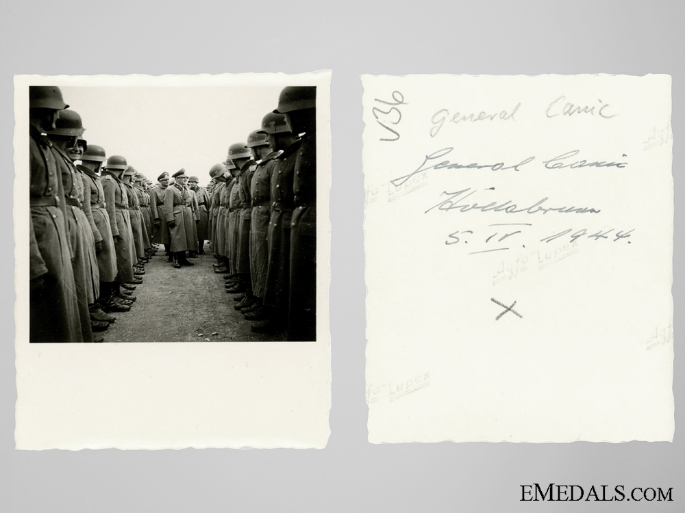 Five Private Photos of General Matija Čanić