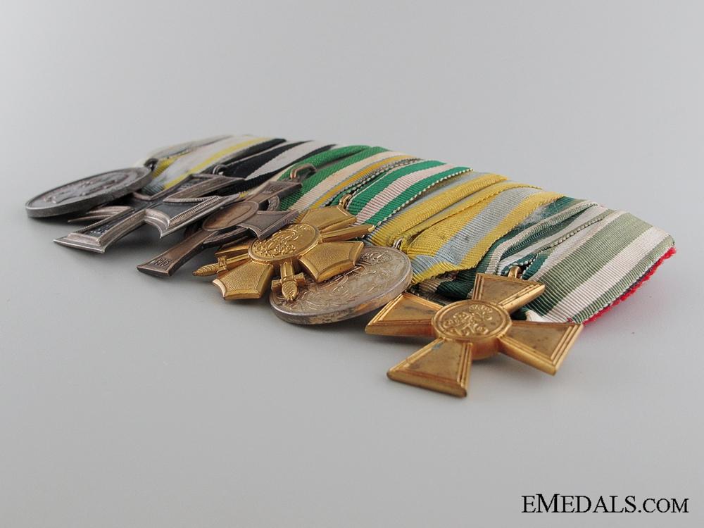 A WWI Saxon Medal Bar   Consginment