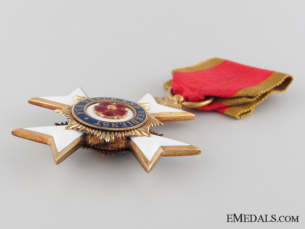 Lippe-Detmold, Honor Cross 3d Class