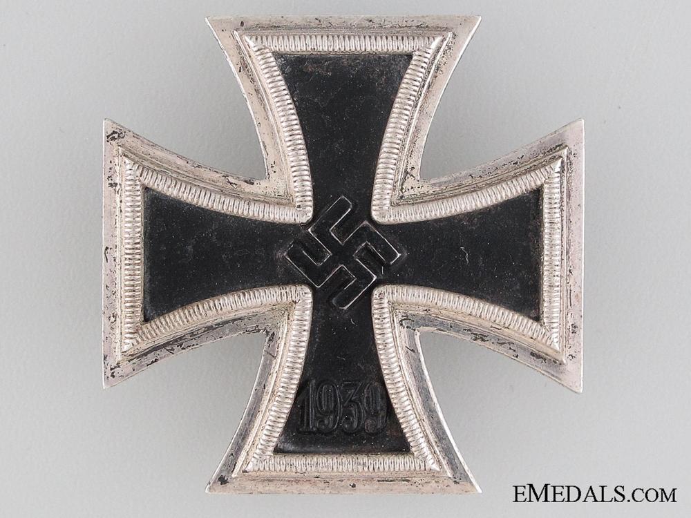 An Iron Cross First Class 1939 by B. H. Mayer, Pforzheim