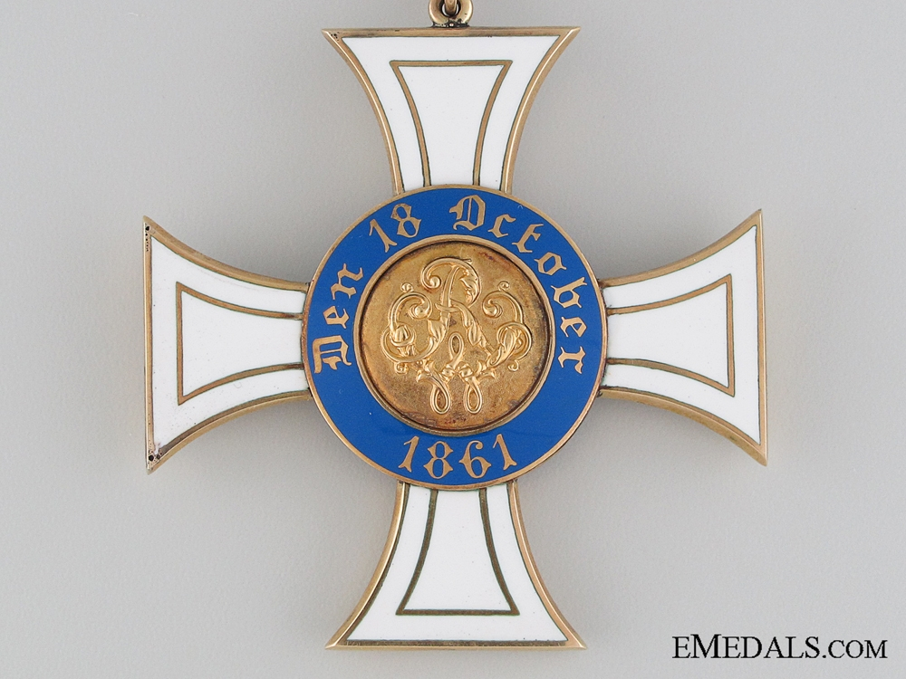 The Prussian Order of the Crown in Gold; 1st Class 1867-1918