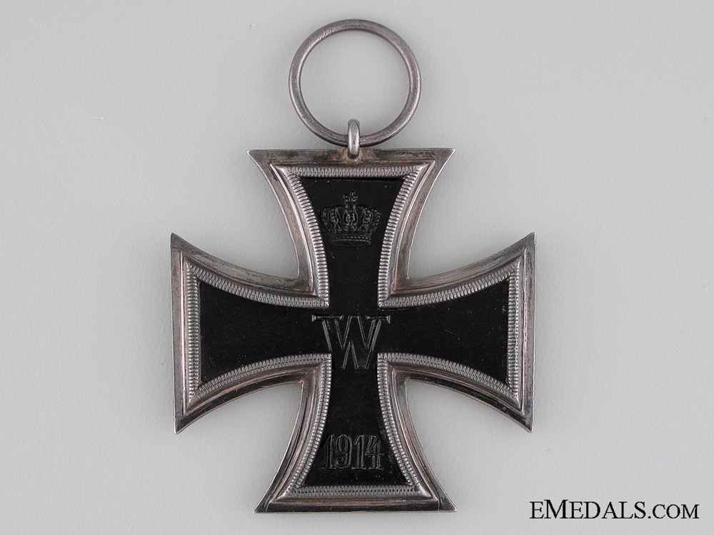 A Cased Iron Cross 2nd Class 1914