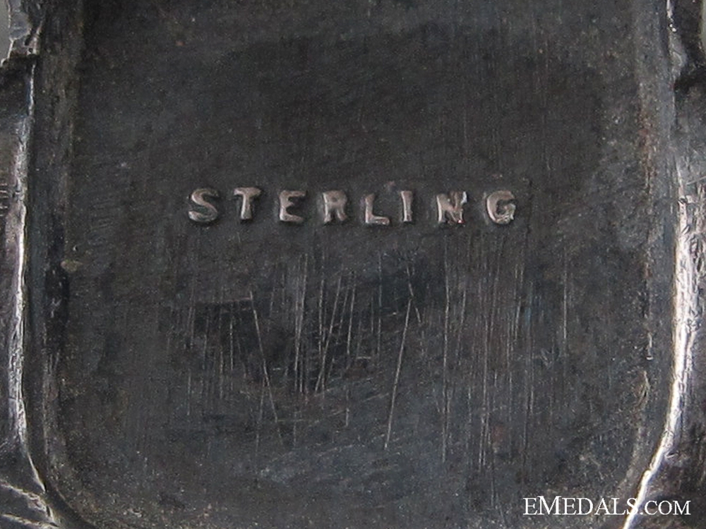 WWII American Air Force Sterling Pilot Wing