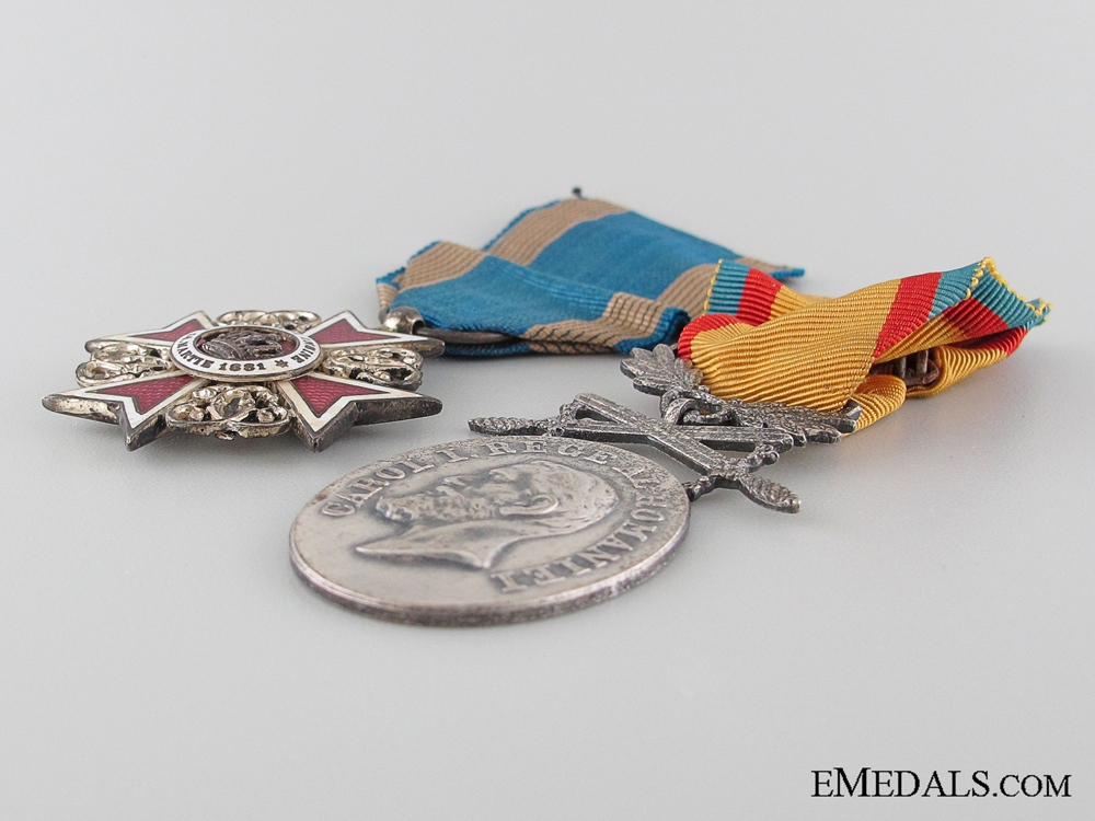 Two First War Period Romanian Awards