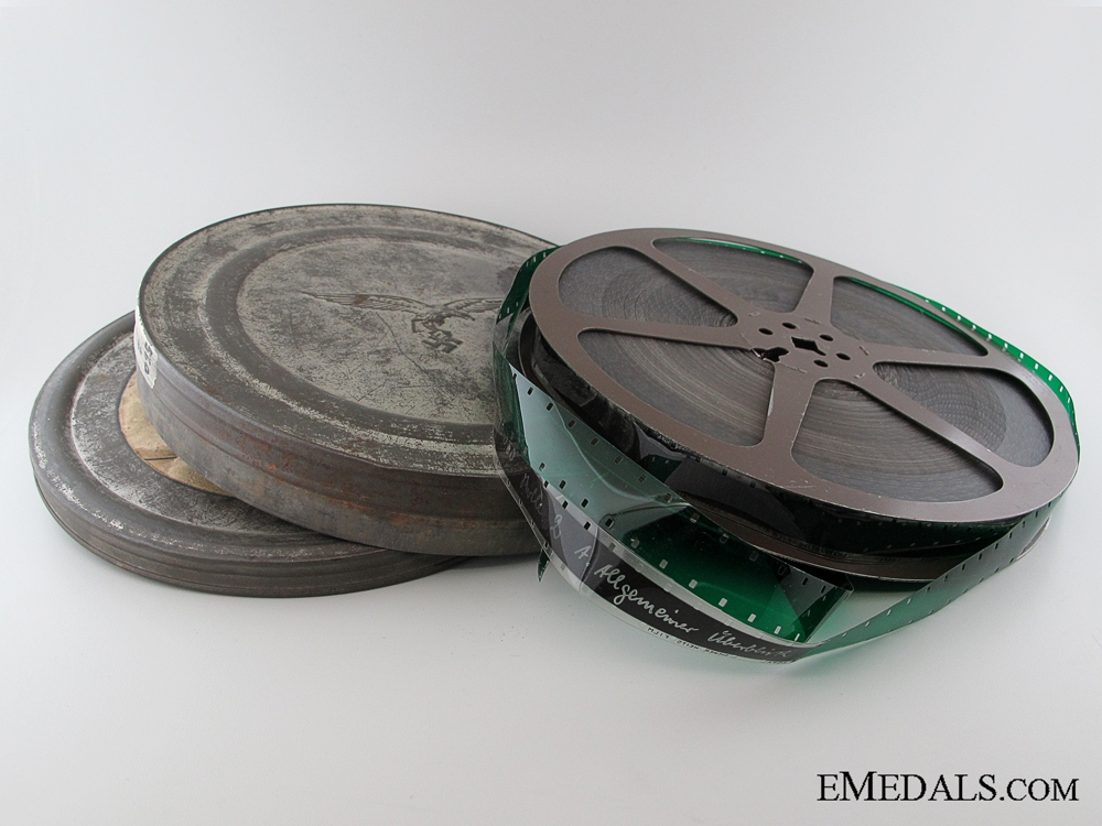 A Rare 16mm Film Luftwaffe Flight Training