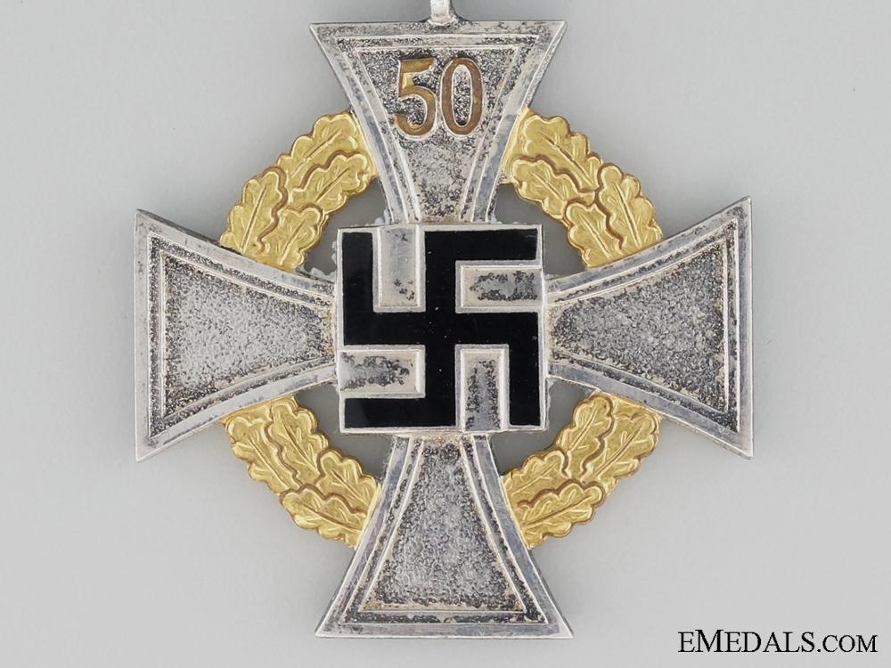 Faithful Service Decoration; Fifty Year