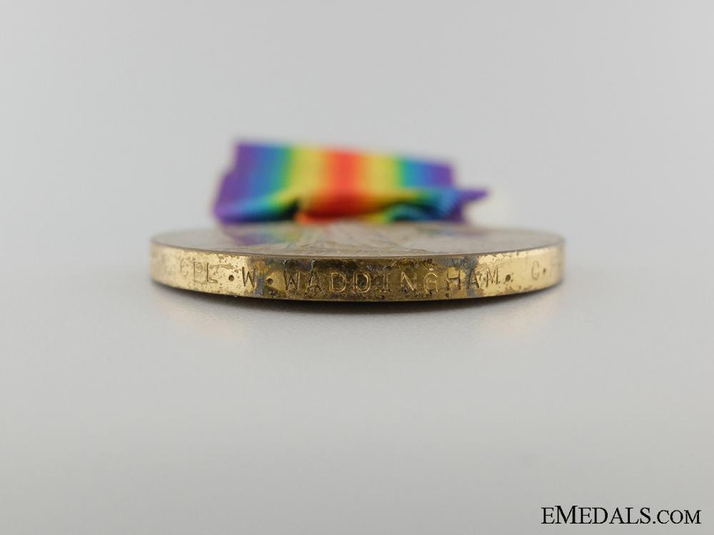 A First War Medal Pair to the Batman of Commanding Officer C.F.A.