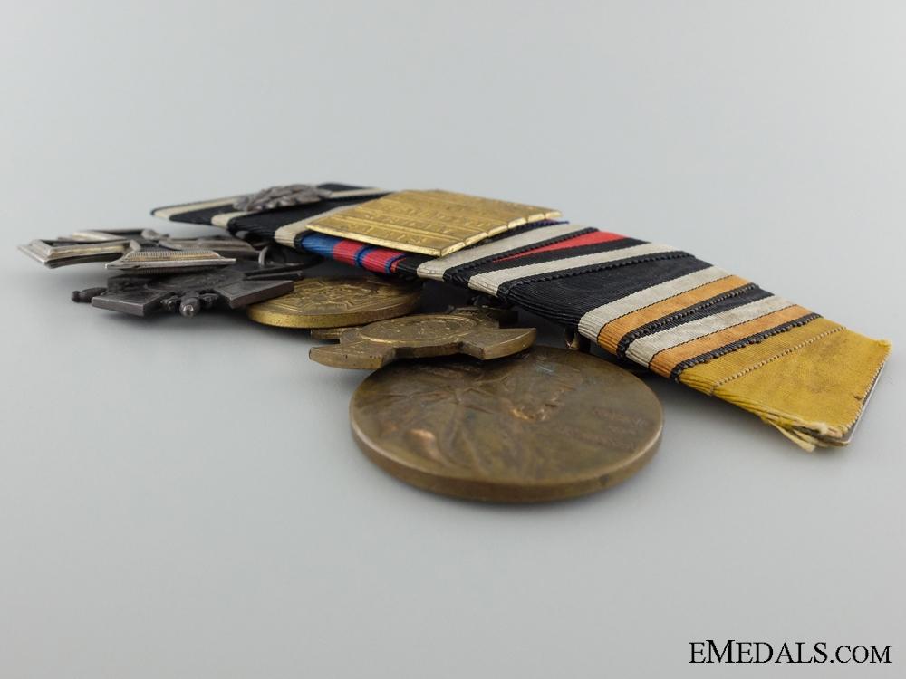 An 1870 Iron Cross Medal Bar
