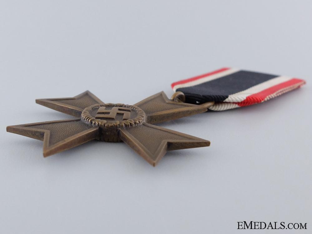 A 1939 War Merit Cross; Second Class