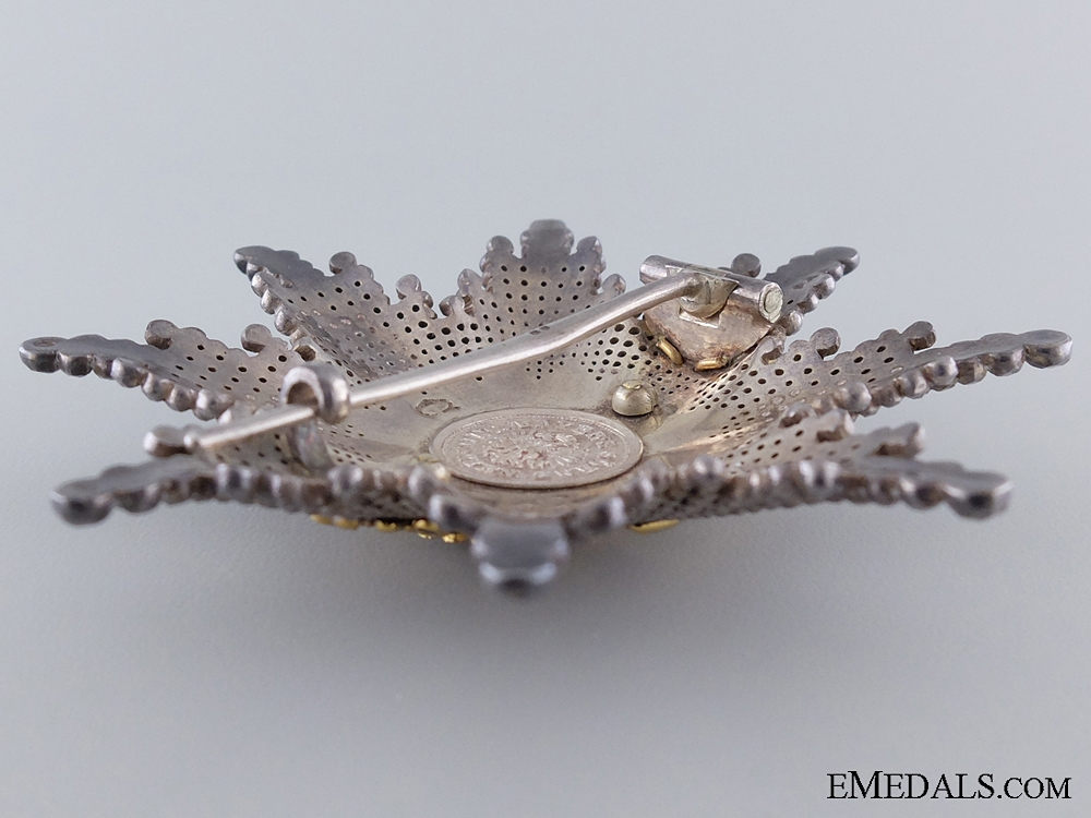The Order of Franz Joseph; Commander's Star by V.Mayer