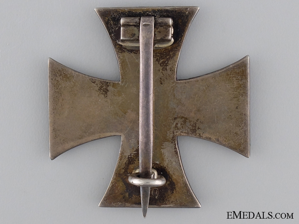Iron Cross First Class 1914 by K.O. with Case
