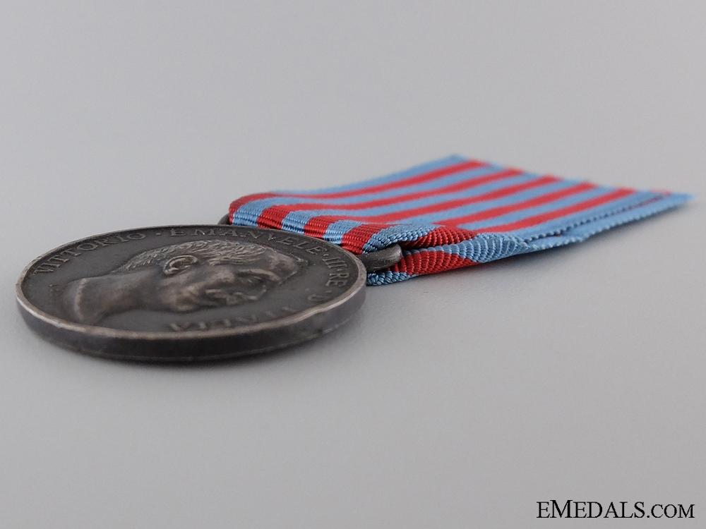 1911-12 Italian Campaign Medal for Turkey