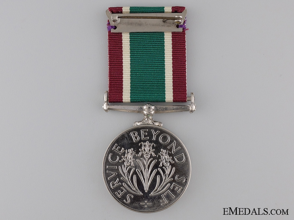 WWII Women's Royal Voluntary Service Long Service Medal