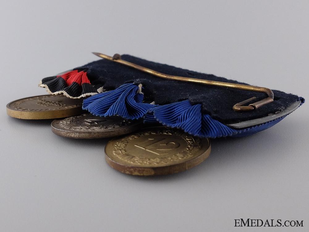 A Second War Luftwaffe Long Service Medal Bar