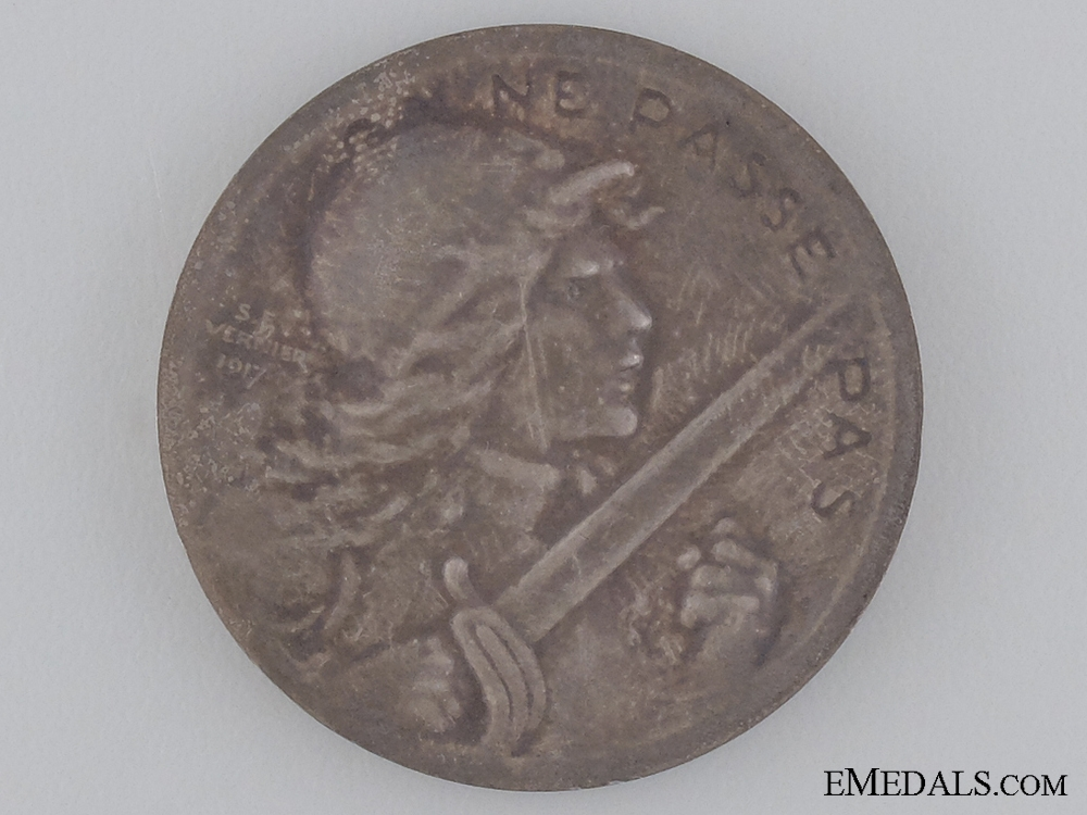 A 1916 Verdun Commemorative Medal