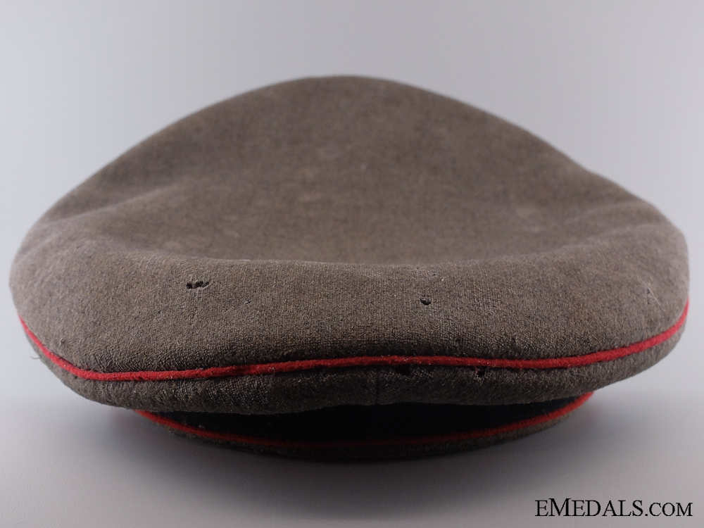 A German First World War Wurttenberg Artillery Visor Cap  CONSIGN 4