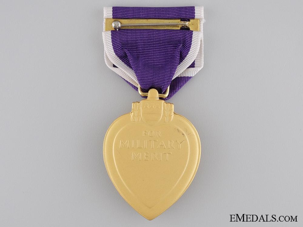 A 1943 Purple Heart to Fireman Welch; U.S.S Rowan Sinking