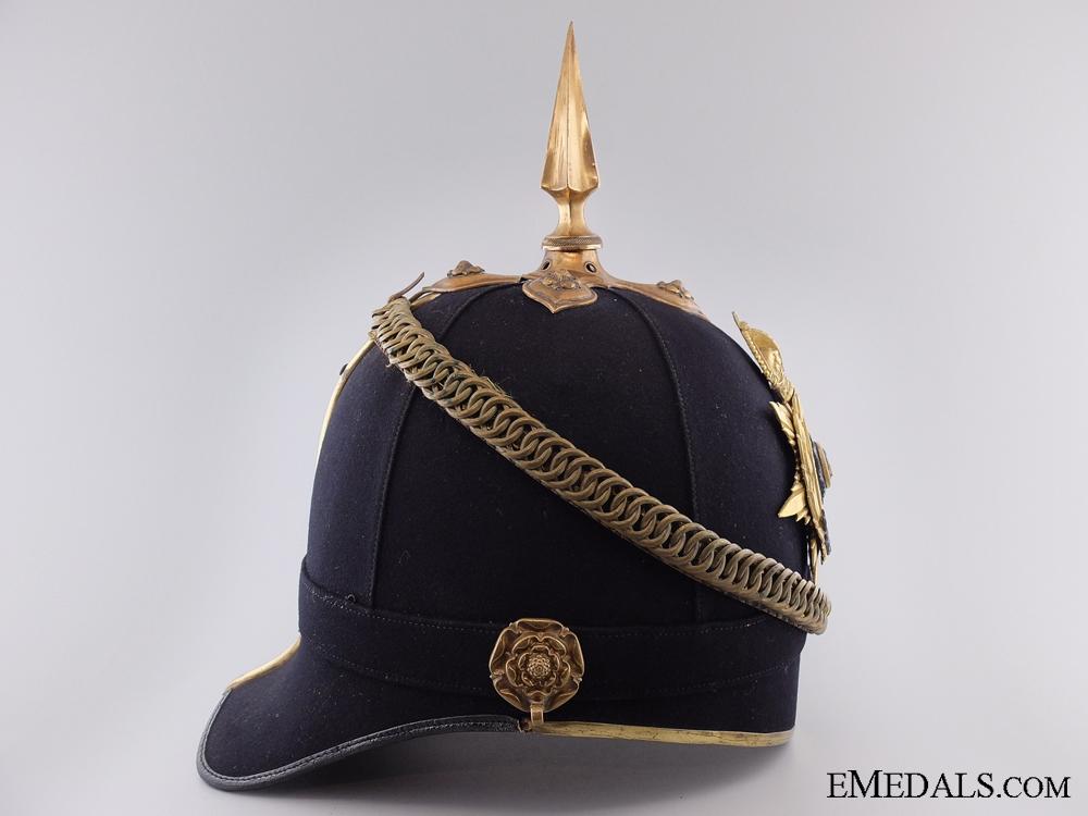 A c.1907 Cheshire Regiment Officer's Helmet