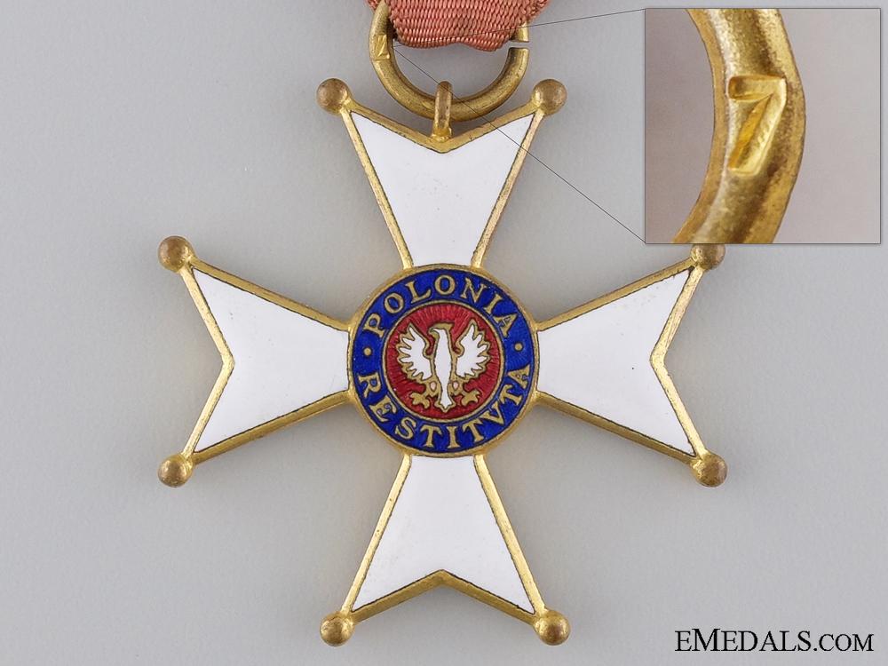 A Second War Polish Order of Polonia Restituta