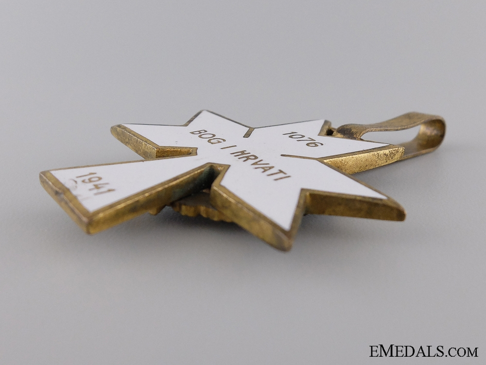 Order of King Zvonimir with Oakleaves; First Class Cross