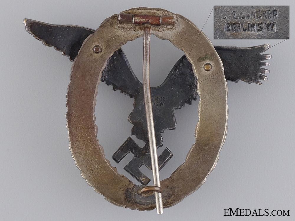 A Pilot's Badge by Juncker