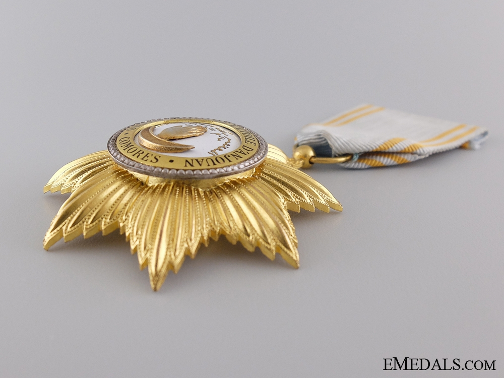 The French Colonial Royal Order of the Star of Anjouan; Knight