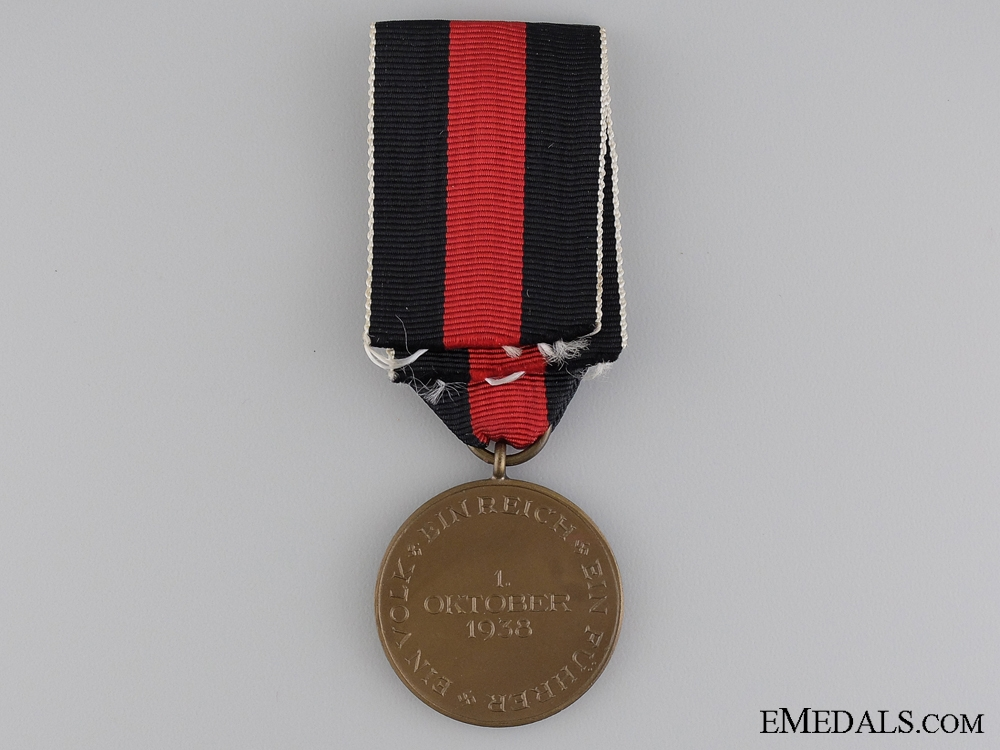 Medal to Commemorate 1 October 1938