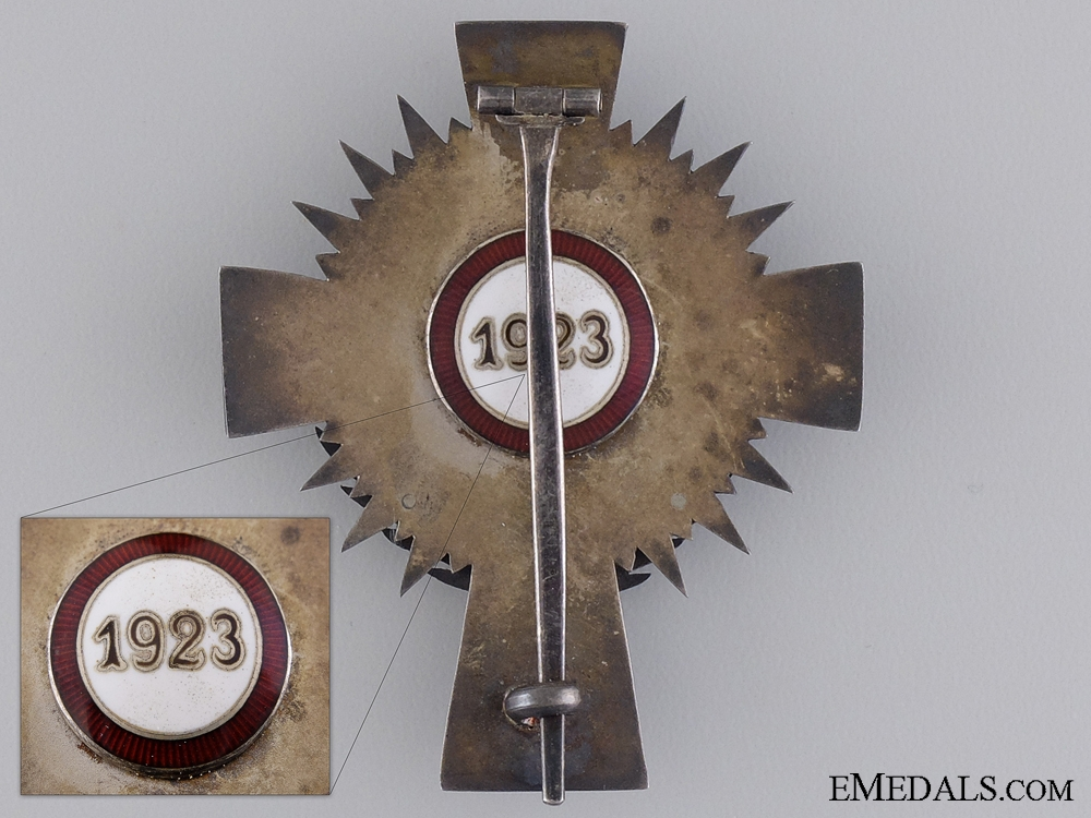 1923 Red Cross Officer's Decoration