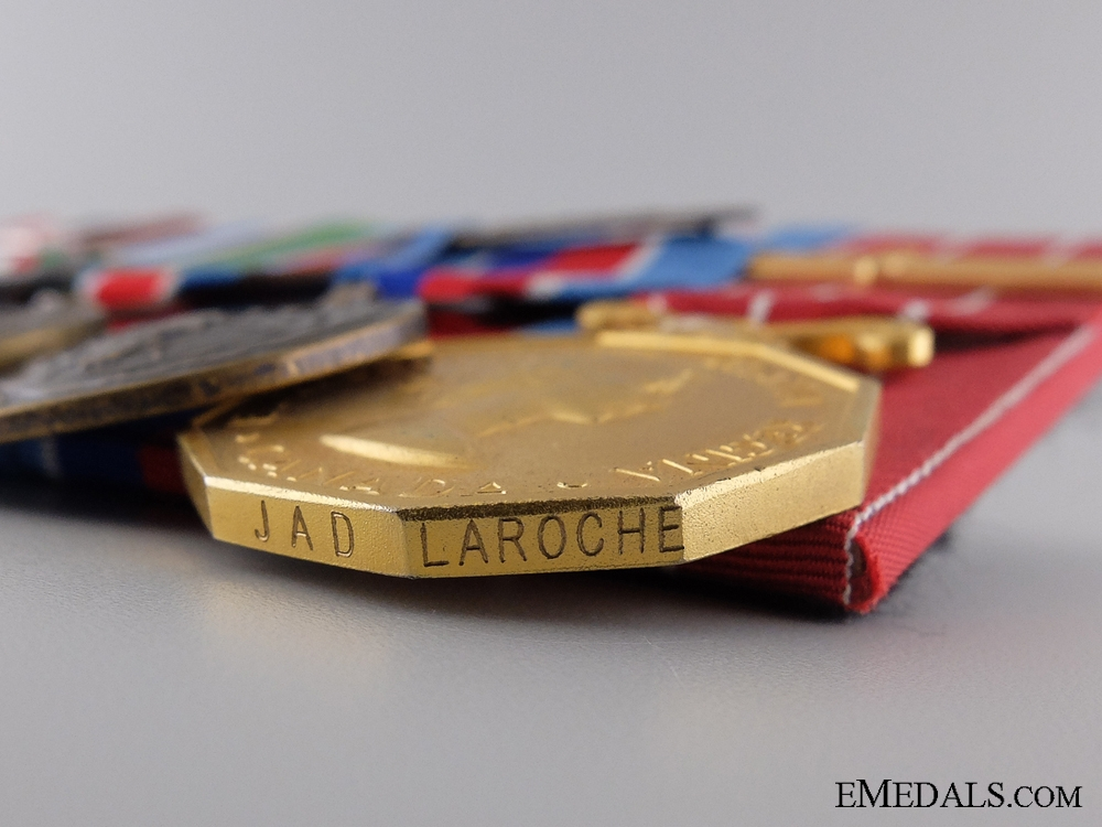A NATO & UN Medal Bar to Corporal J.A.D. LaRoche