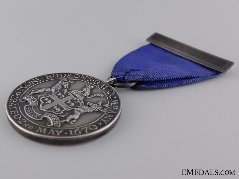 A Hudson's Bay Company Fifteen Years Faithful Service Medal 1944