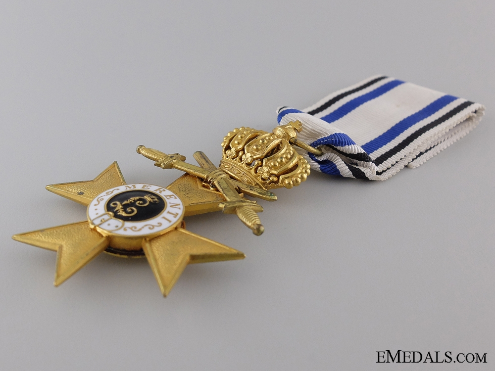 A Bavarian Military Merit Cross 1st Class