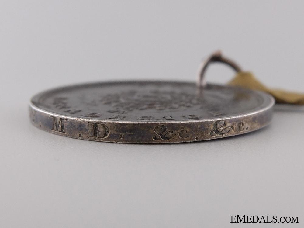 An 1836 Spanish San Sebastian Medal to J.B. Godfrey