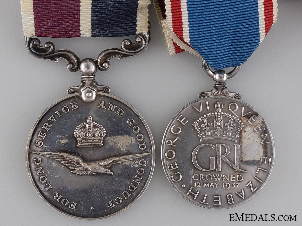 A Second War Canadian RCAF Long Service Group