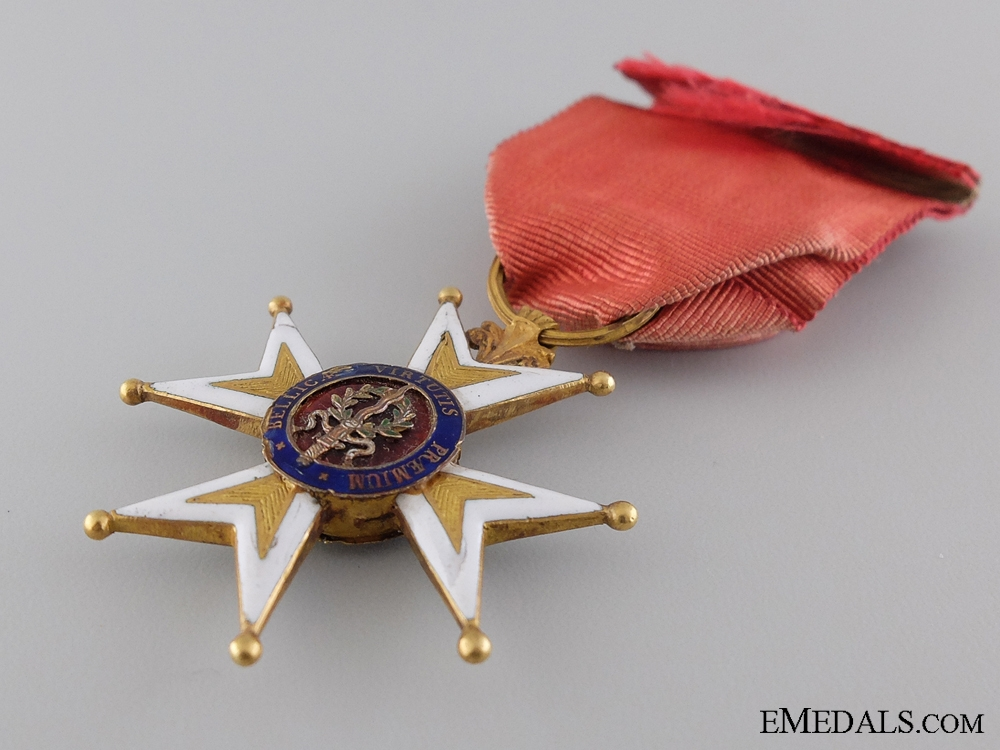 France, Empire. An Early French Order of St. Louis in Gold; Circa. 1800