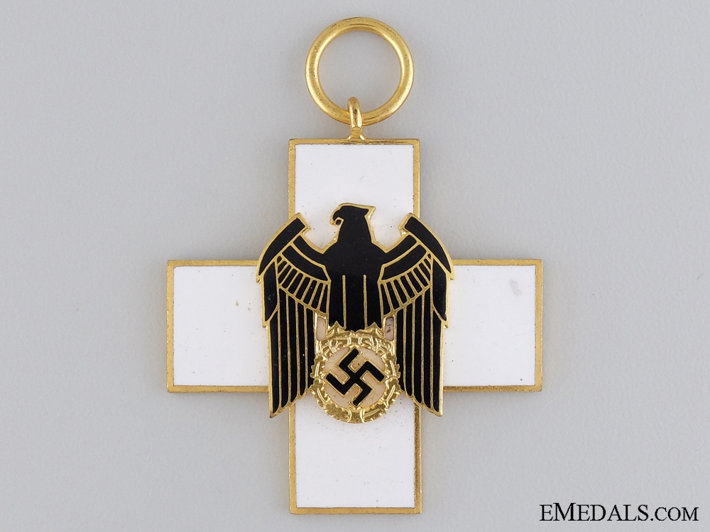A Cased German Social Welfare Decoration by Godet