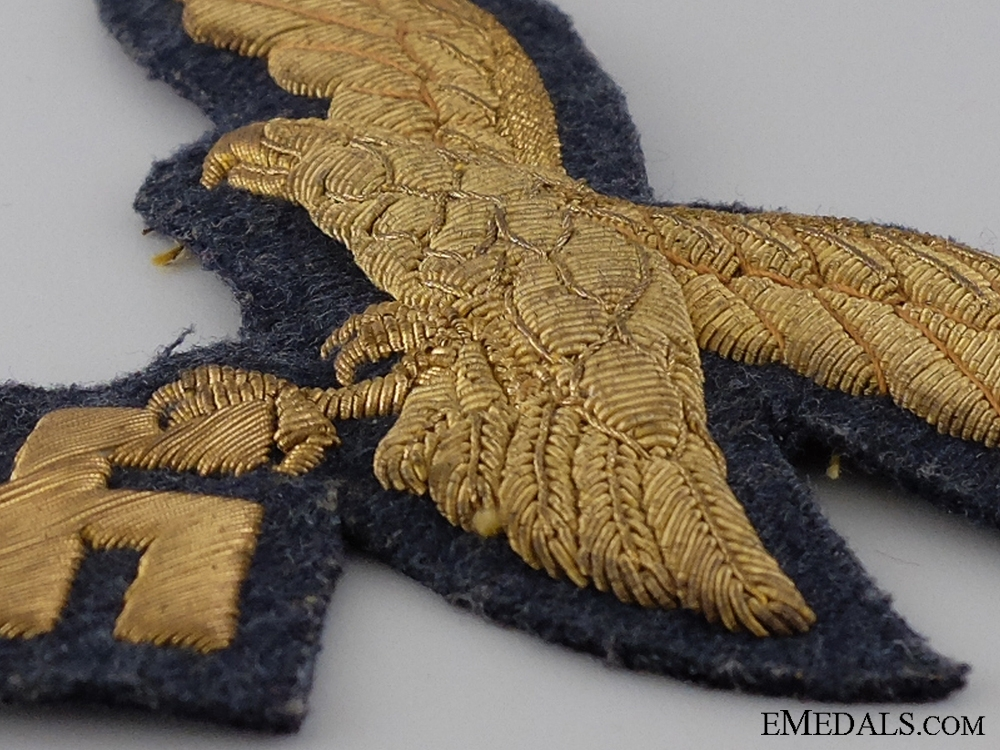 A Rare Breast Eagle for Luftwaffe Generals' Overcoat