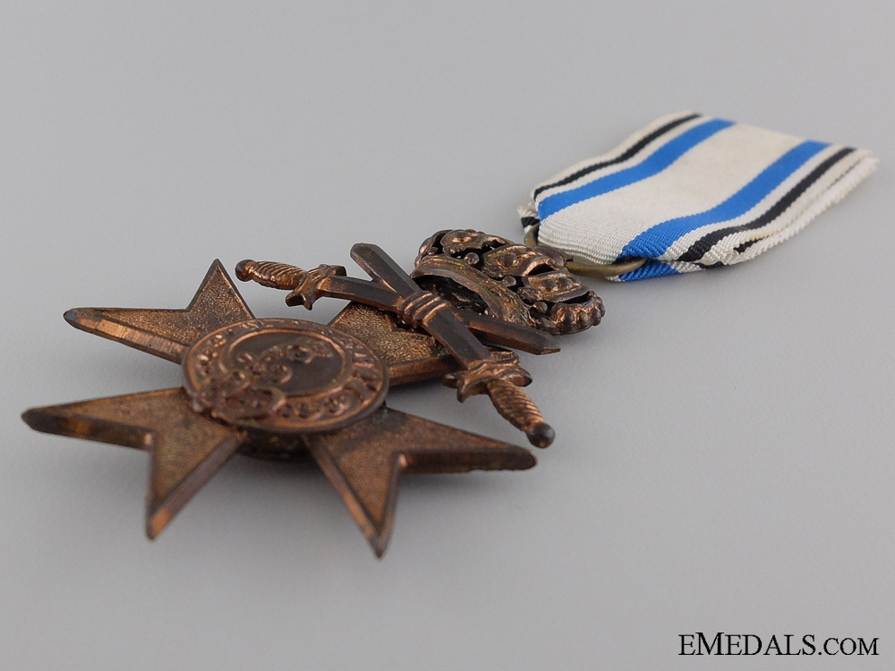 A Bavarian Military Merit Cross with Swords; 3rd Class