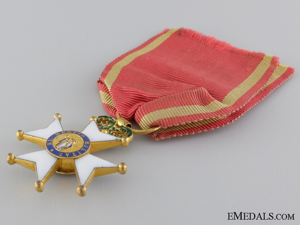 A Royal Spanish Military Order of St. Ferdinand