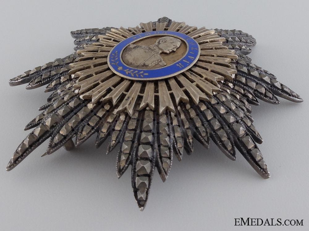 The Order of the Liberator of Venezuela; Grand Cross Star