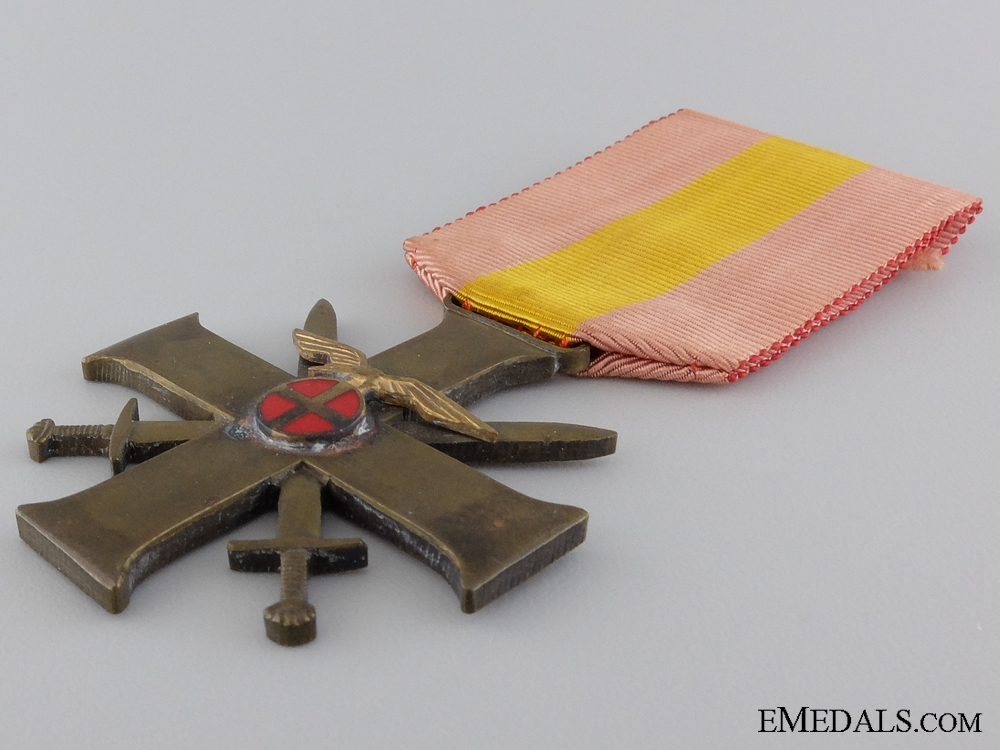 A Norwegian Merit Cross with Swords; Quisling issue