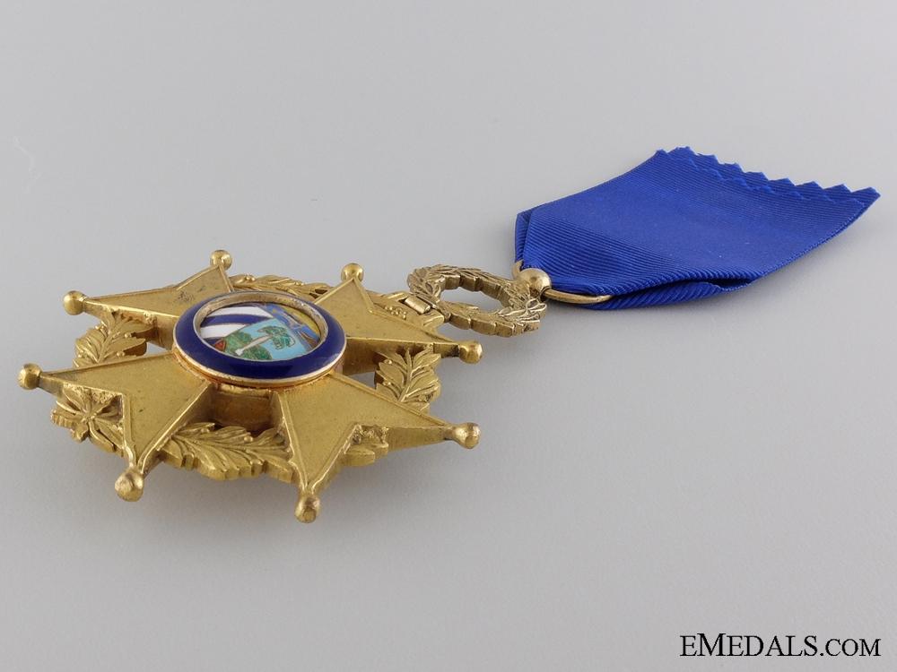 A Cuban Order of Military Merit; Third Class Officer Cross