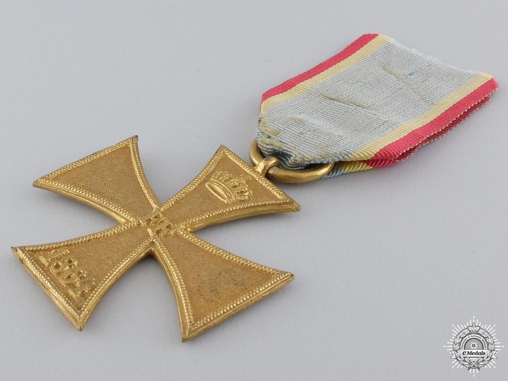 An 1864 Mecklenburg Military Merit Cross; Ladies Cross