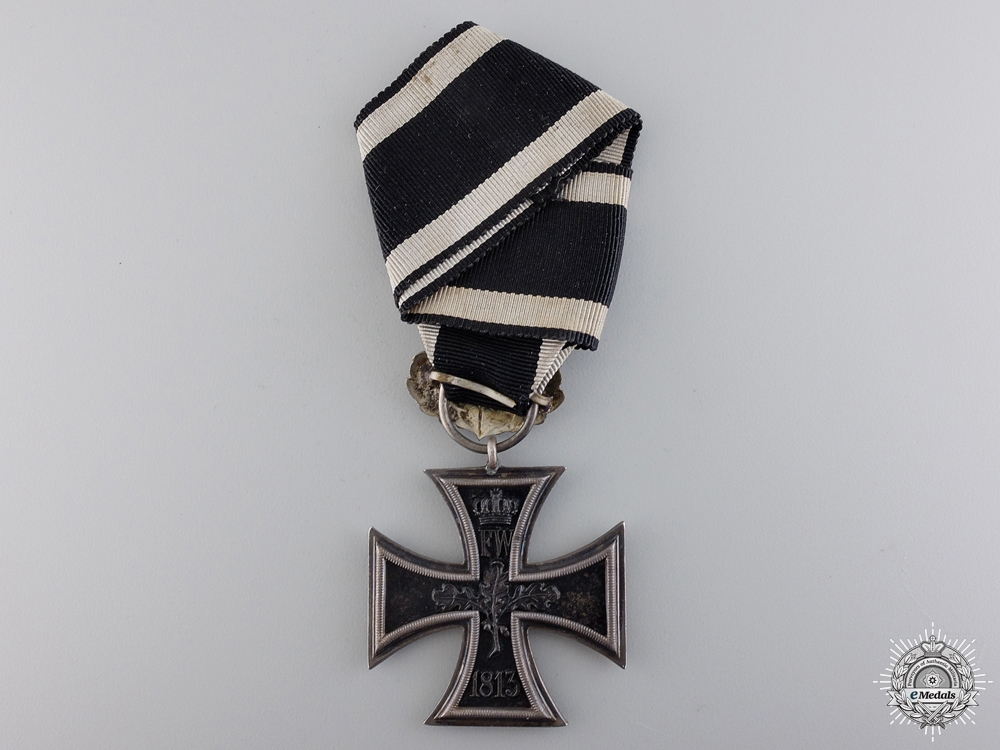An 1870 Iron Cross Second Class to the 7th Württemberg Regiment