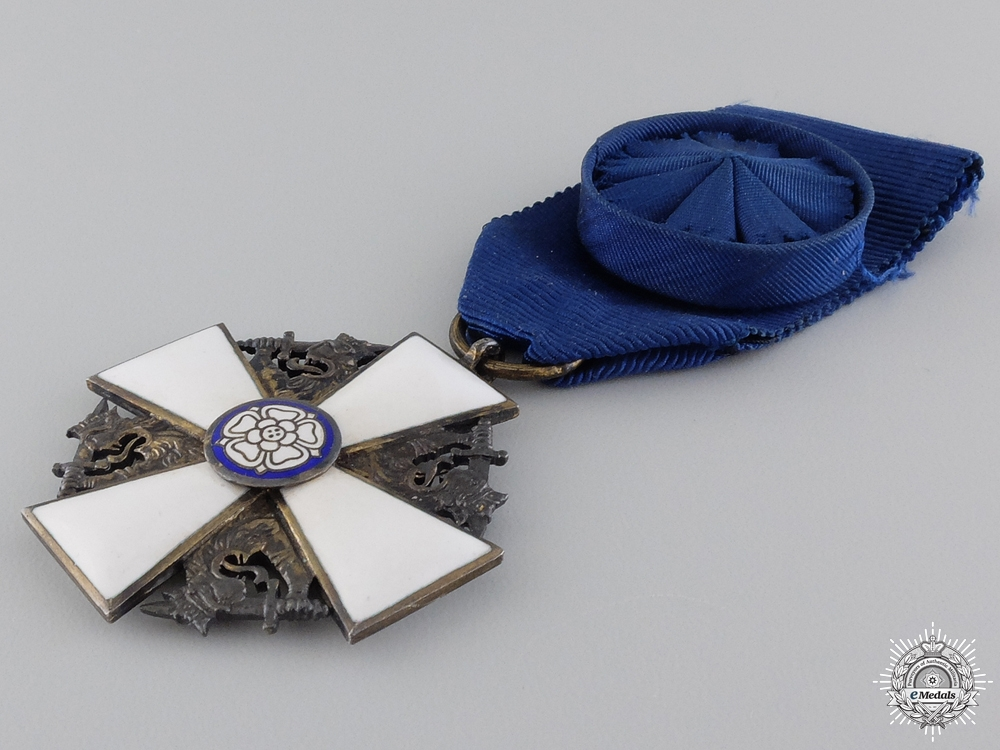 A Finnish Order of the White Rose; Knight 1st Class