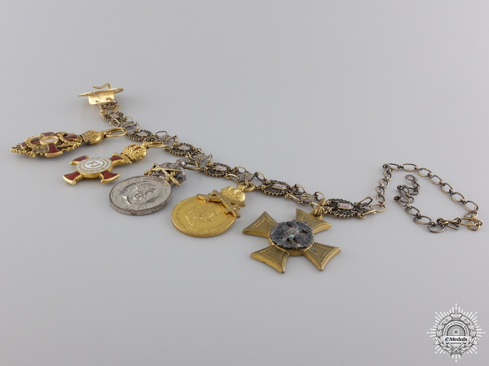 An Austrian Order of Franz Joseph Miniature Set
