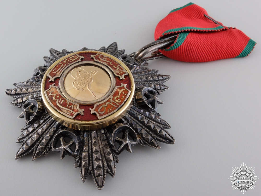 A Turkish Order of Medjidie (Mecidiye); Breast Badge