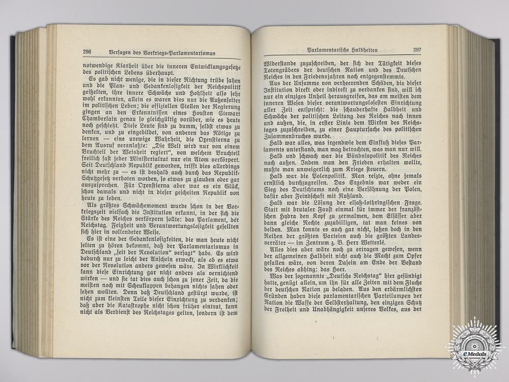 A 1937 Presentation Mein Kampf Signed by Adolf Hitler