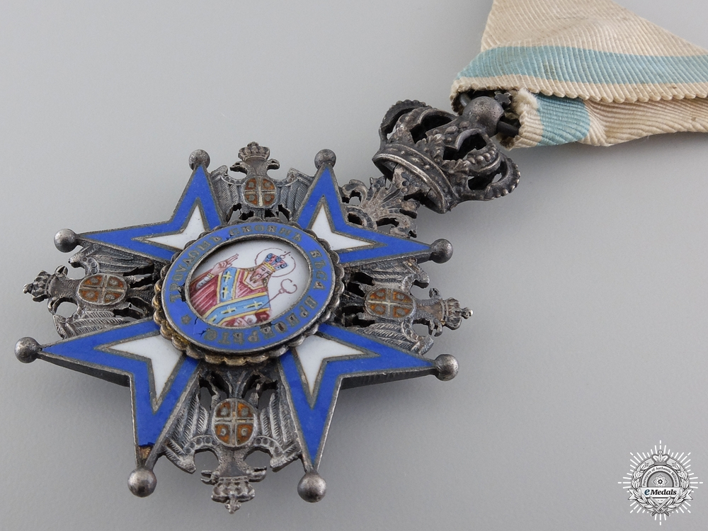 A First War Serbian Order of St. Sava ; 5th Class Badge