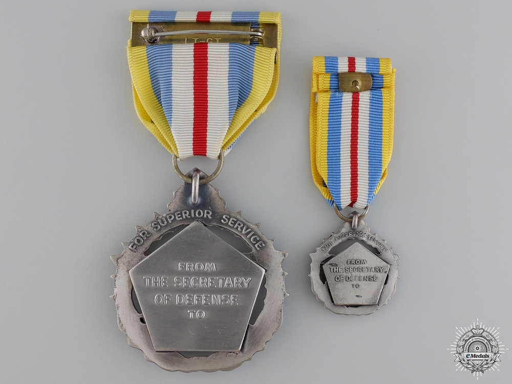 An American Defense Superior Service Medal
